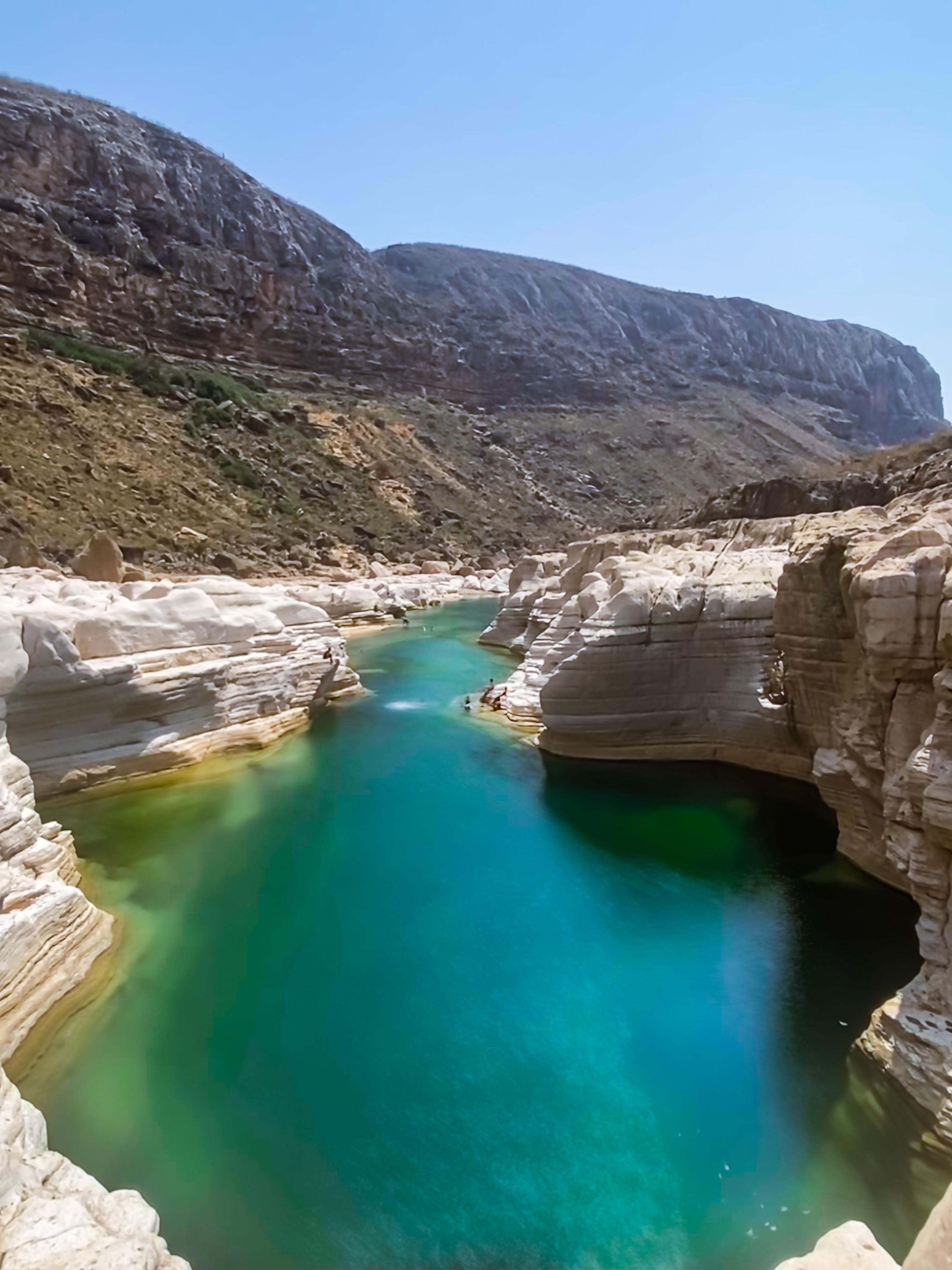 Swimming gorge in Kallisan