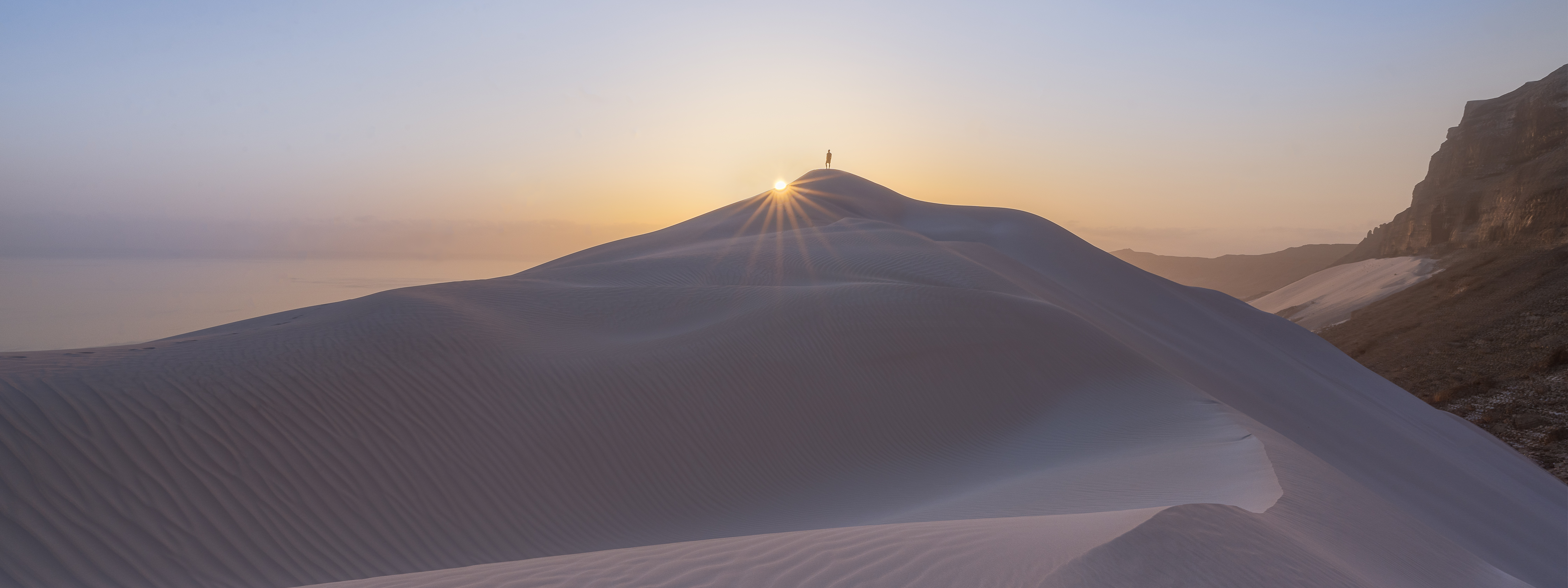The Arher sand dunes at sunrise are worth waking up for!