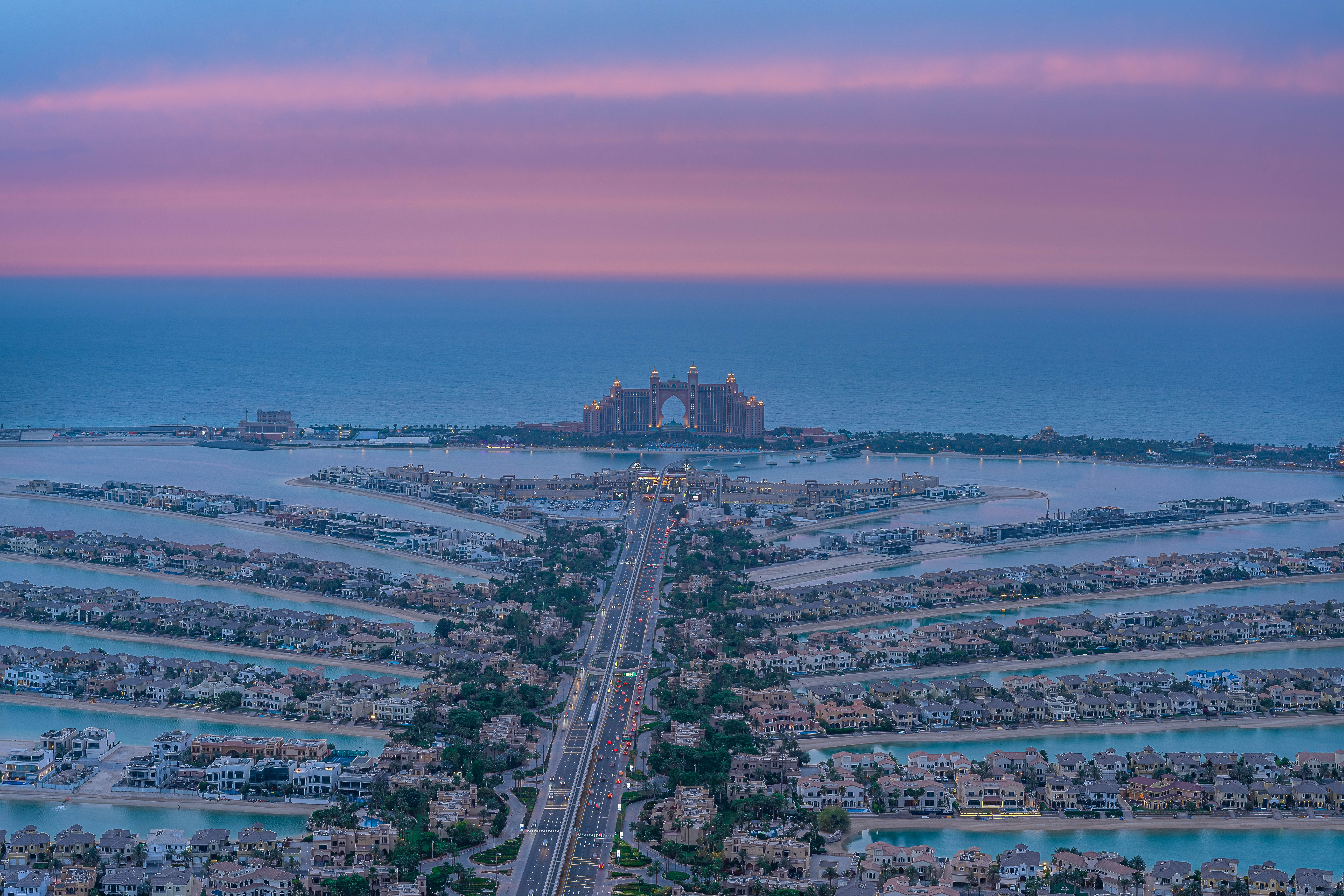 The new and incredible view of The Palm and Atlantis Hotel