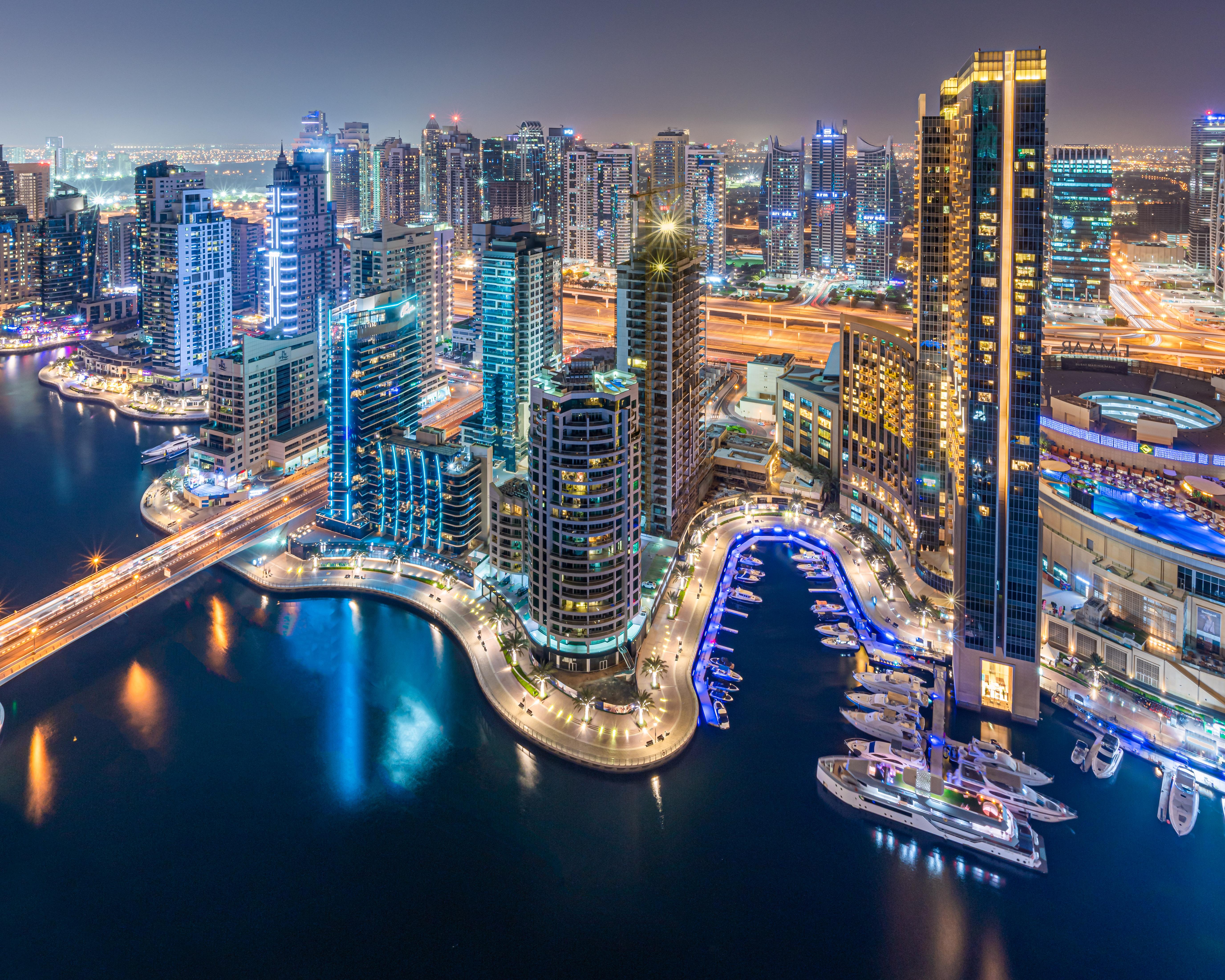 The classic shots from Intercontinental Dubai Marina