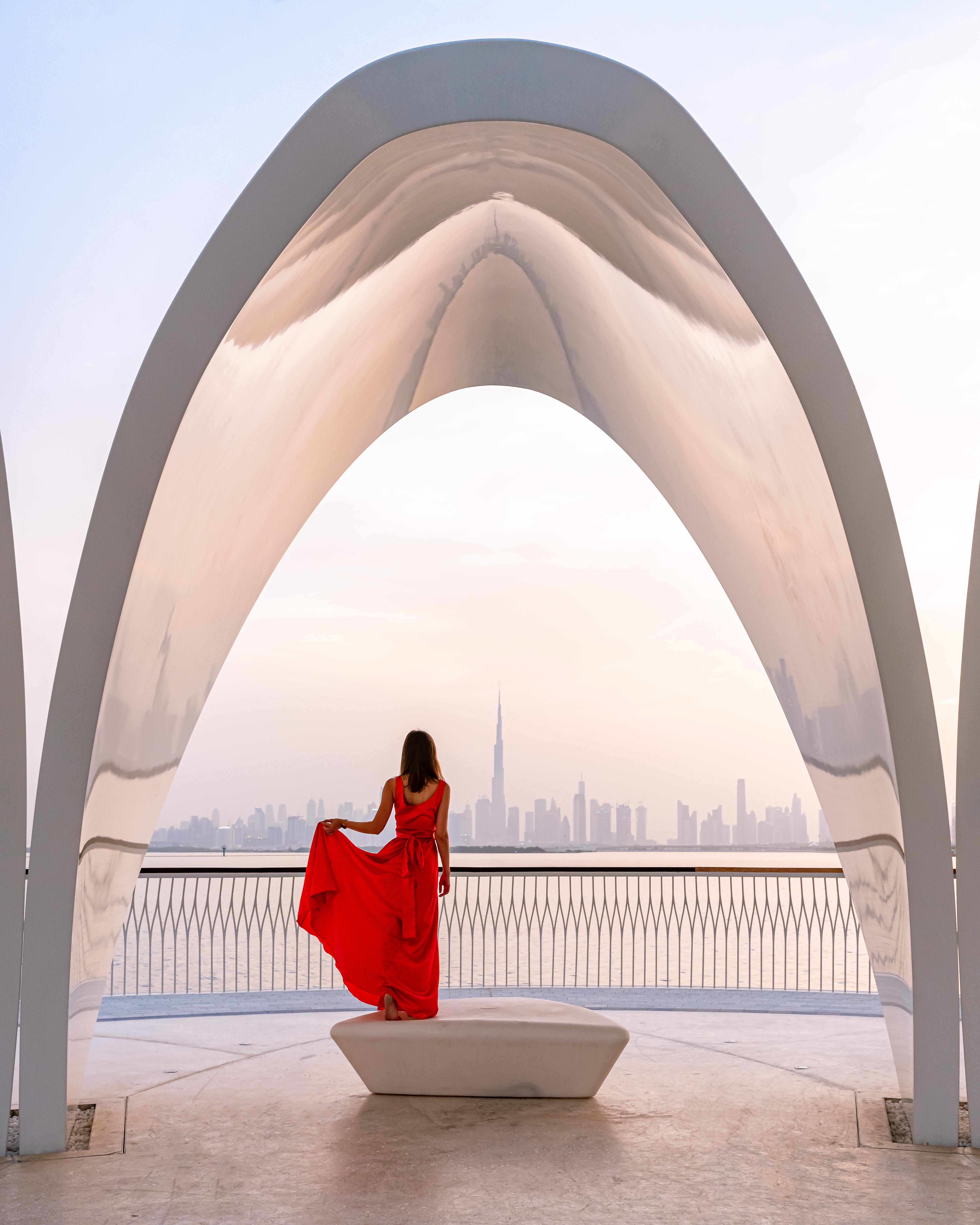 Lifestyle images at Dubai Creek Harbour