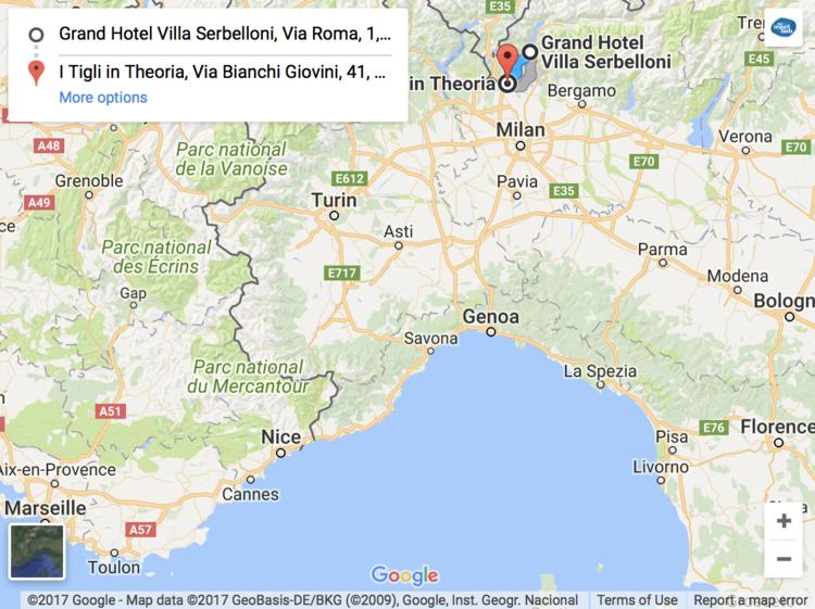 Lake Garda and Lake Como Italy