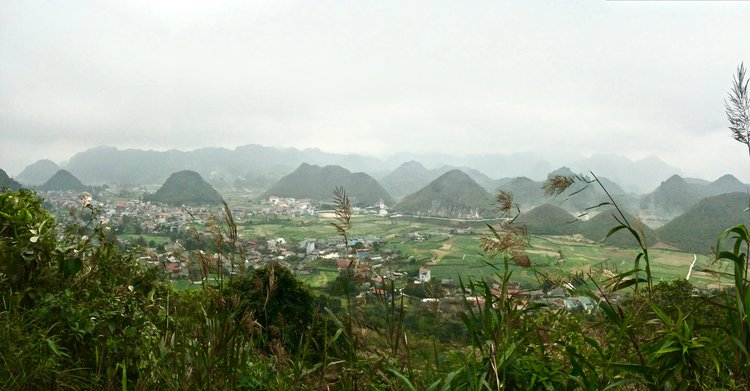 Ha Giang City, Vietnam - Riding the most northern loop