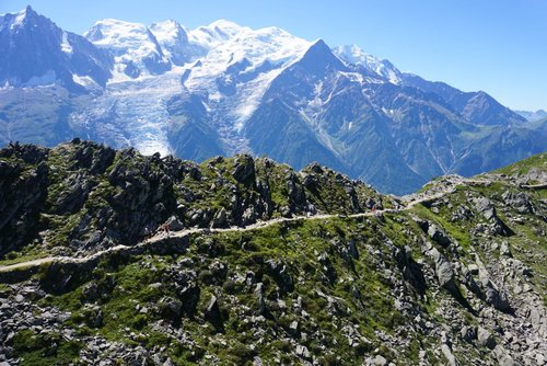 Chamonix, France - Snow and Bikes