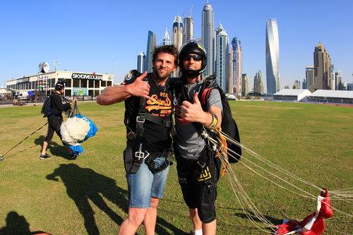 The Palm Dubai, UAE - Sky Dive Dubai