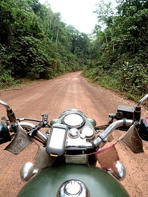 Africa - On an Enfield Motorbike