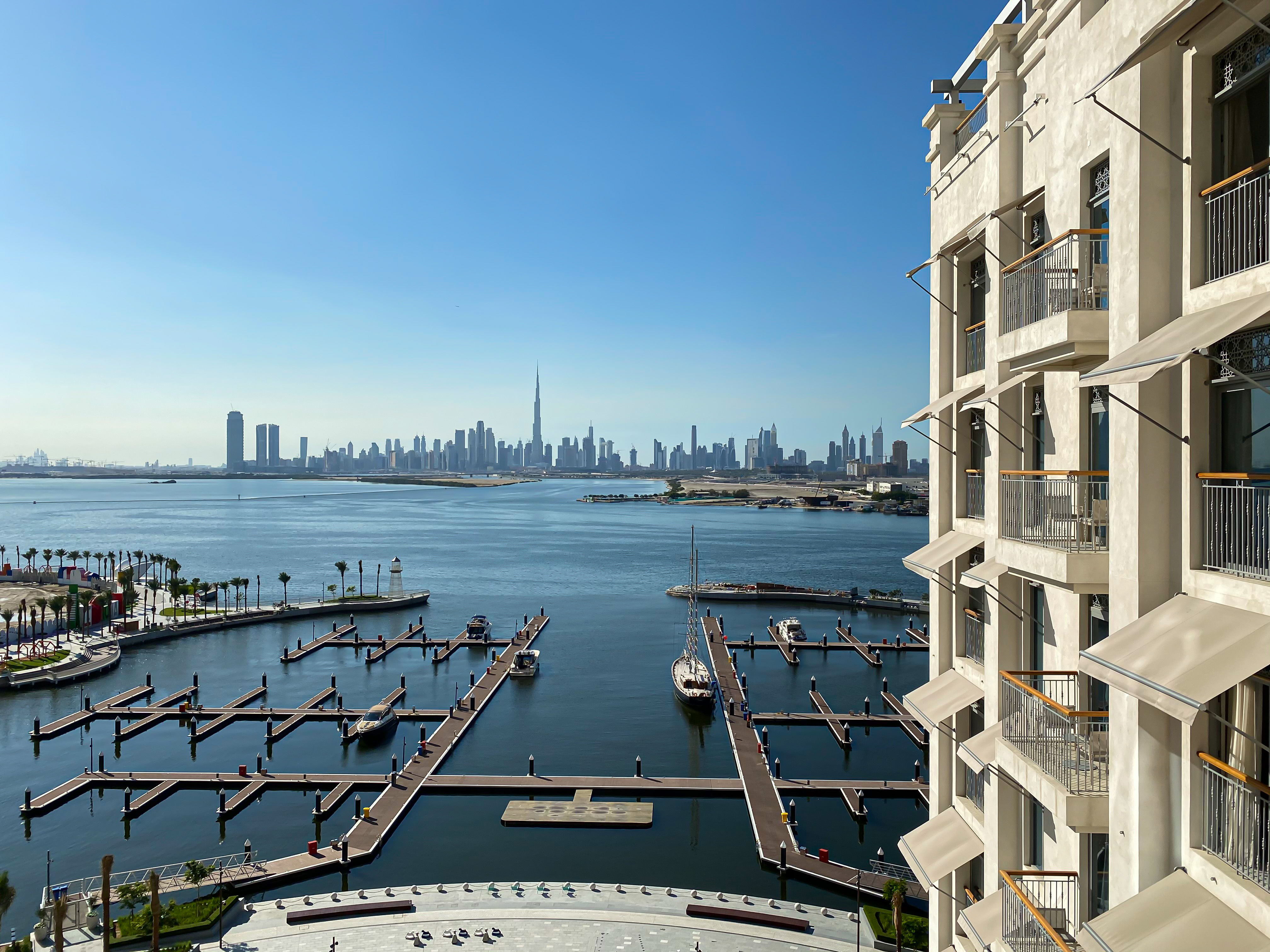 Vida Dubai Creek Harbour.