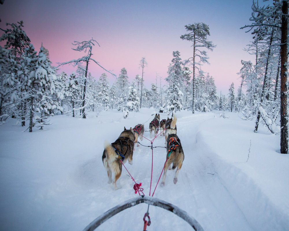 Kittila - Its Cold Up There - Finish Lapland