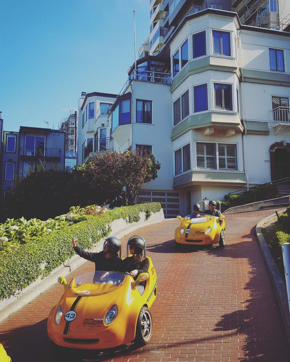 San Francisco, USA - Making the most of a work trip!